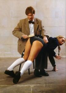 a naughty schoolgirl