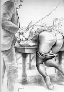 paula spanking