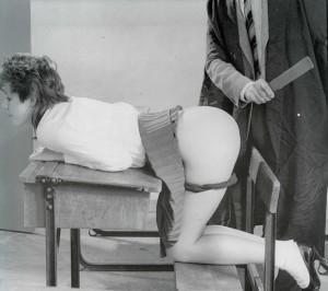 Blushes spanking
