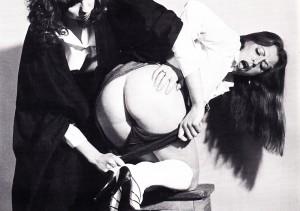 Roué spanking